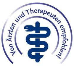 Von Ärzten und Therapeuten empfohlen