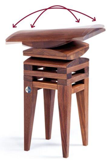 Stuhl für ergonomisches sitzen