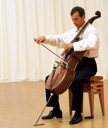 Cellostuhl ergonomisch