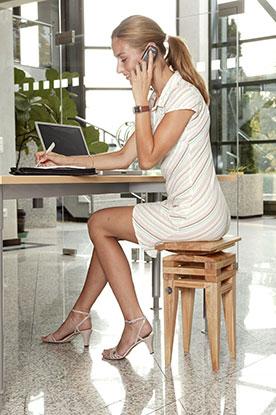 Bürostuhl gegen Rückenschmerzen