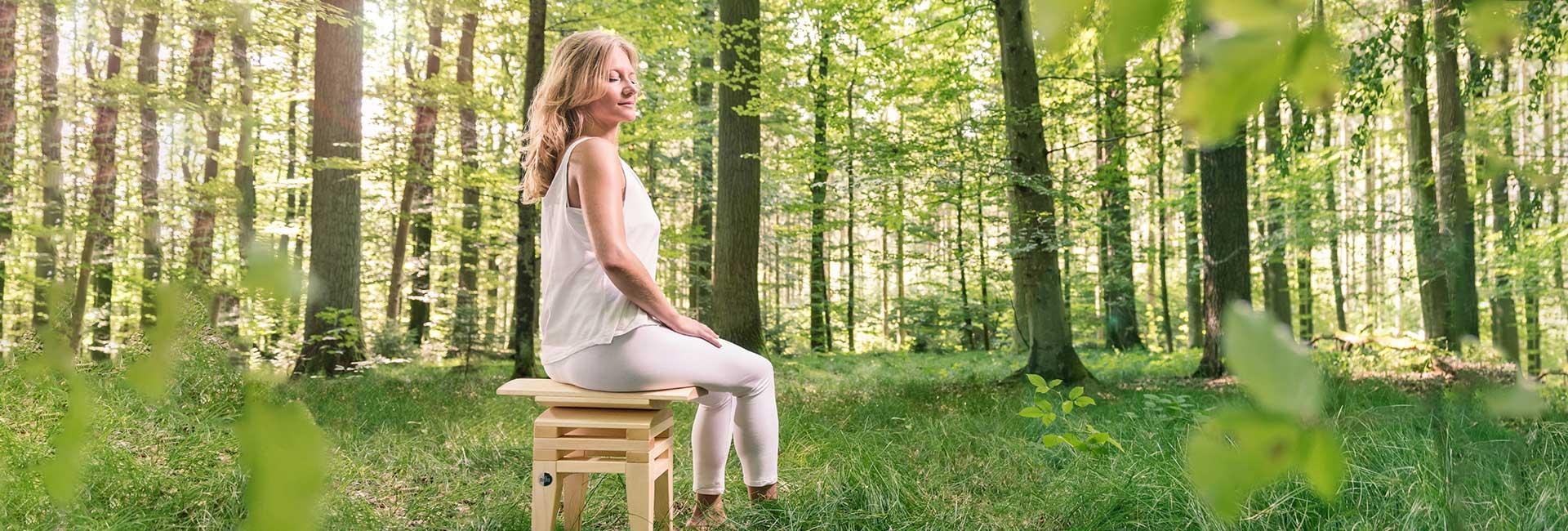 Gesundsitzen beim Meditieren