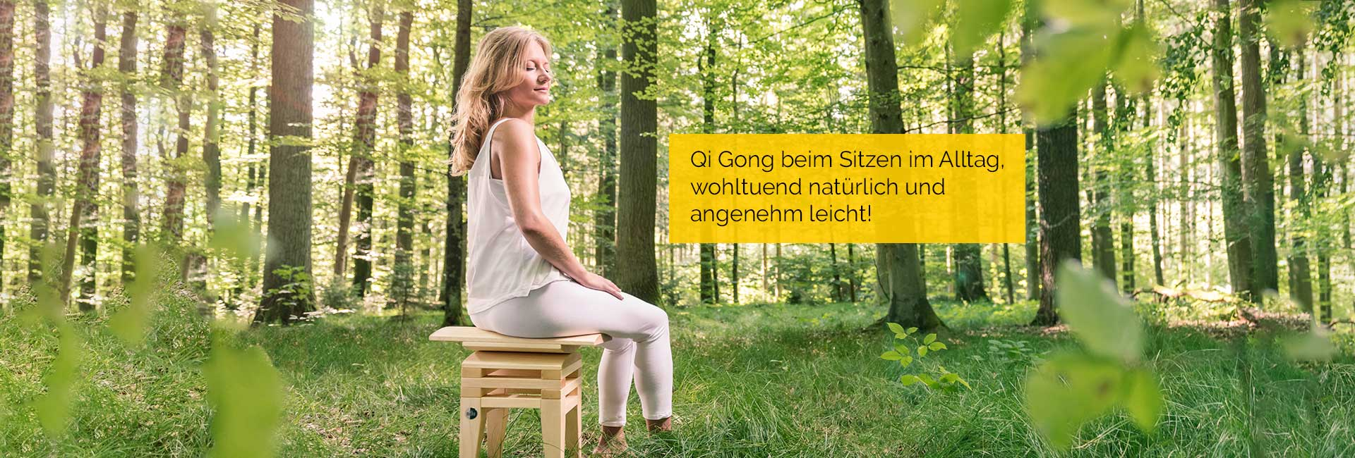 Qigong im Sitzen